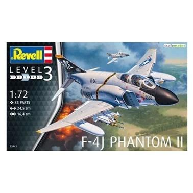 Revell Revell Maket 1:72 F-4J Phantom II  Renkli